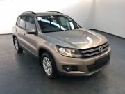 2014 Volkswagen Tiguan 5N MY14 103TDI DSG 4MOTION PACIFIC Titanium Beige Steptronic Wagon Albion Brimbank Area Preview