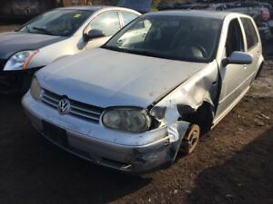 2001 VW Golf just in for parts at Pic N Save!