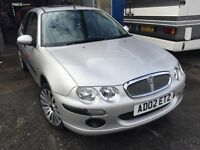 2002 Rover 25, starts and drives well, MOT until May 2017, 63,000 miles, car located in Gravesend Ke