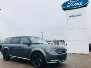 2018 Ford Flex Limited, AWD, LOADED, Leather, NAV, Moon!