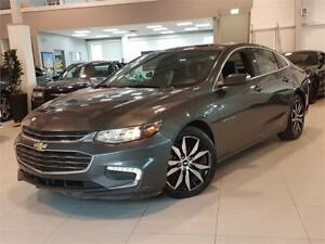 2017 Chevrolet Malibu LT-NAVIGATION-PANO ROOF-LEATHER-ONLY 44KM