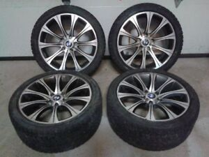 BMW Run Flats on Rims