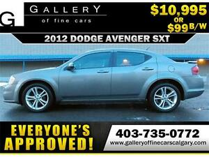 2012 Dodge Avenger SXT $99 BI-WEEKLY APPLY NOW DRIVE NOW