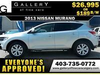 2013 Nissan Murano SL AWD $189 bi-weekly APPLY NOW DRIVE NOW
