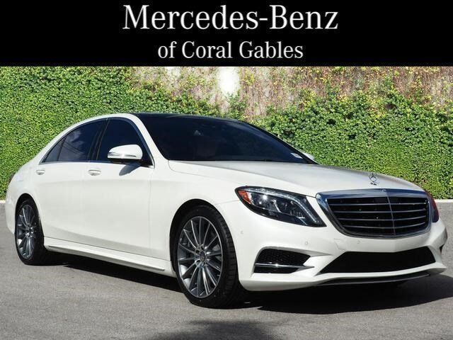 Image 1 Voiture American used Mercedes-Benz S-Class 2016