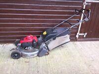 Honda HRD536 QXE Lawn Mower - (Spares or Repairs)