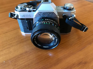 Canon AT-1 35mm Film Camera with 50mm f/1.4 Lens