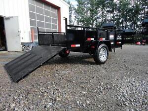 Snake River utility dump trailer