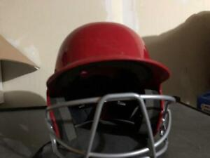 Junior Softball Helmet with Safety Cage