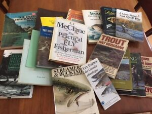 Fly tying and Fishing Books