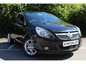 Vauxhall Corsa 1.2i 16V SXi 5dr [AC] **NEW MOT AND SERVICE INCLUD (black) 2009