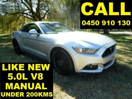 2016 Ford Mustang FM MY17 Fastback GT 5.0 V8 Ingot Silver 6 Speed Manual Coupe
