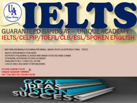 IELTS/CELPIP/CELBAN/SPOKEN ENG-GUARANTEED BANDS(4,5,6,7,8 & 9)