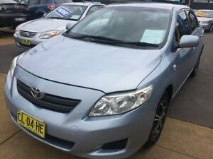2009 Toyota Corolla ZRE152R MY09 Ascent Blue 6 Speed Manual Sedan Islington Newcastle Area Preview
