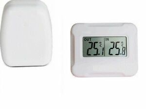 Digital lcd thermometer indoor outdoor wireless thermometer for Thermometre exterieur wifi