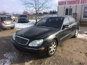 2006 MERCEDES-BENZ S-CLASS 4.3L 4MATIC - LEATHER - HEATED SEATS