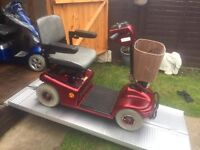 Lovely Clean & Reliable Shoprider Deluxe Mobility Scooter For Only £190!! Great Price!!