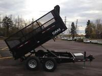 2016 Cam 6' x 10' Dump Trailer w/ Expanded Metal Sides