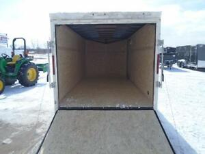 IN STOCK SPECIAL 2016 HAULIN 7X16' ENCLOSED CARGO - LOWEST PRICE London Ontario image 9