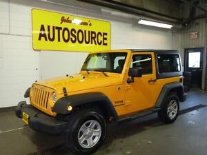 2012 Jeep Wrangler Sport 4WD Peterborough Peterborough Area image 3