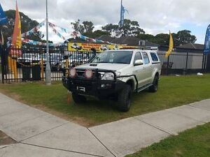 2008 Toyota Hilux KUN26R MY08 SR Silver 5 Speed Manual 4D CAB CHASSIS Ingleburn Campbelltown Area Preview