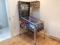 KISS Themed Pinball Machine * CNC Cut, Custom Designed * over 100 classic and new tables to play