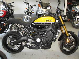 2017 Yamaha XSR 900 60th Aniversary yellow