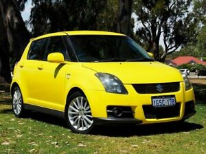2007 Suzuki Swift RS416 Sport Yellow 5 Speed Manual Hatchback Myaree Melville Area Preview