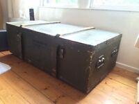 Vintage Military storage locker