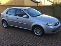 Daewoo Lacetti 1.6 Automatic, 48,000 miles, MOT, Immaculate condition.