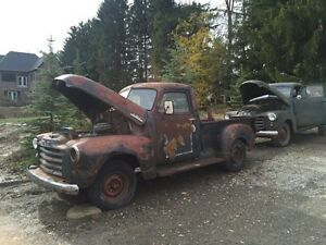 ***** BOTH SOLD PENDING PICK UP*****1951 GMC 3100 Patina rat rod