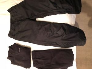 NEVER WORN: Quicksilver Snowboarding Pants and Orage Base Layer