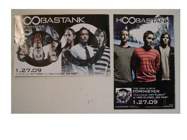 Hoobastank Poster Promo For(n)ever Fornever For