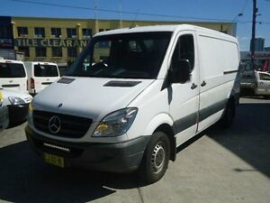 2011 Mercedes-Benz Sprinter 313 CDI HIROOF MWB White Automatic Van Canada Bay Canada Bay Area Preview