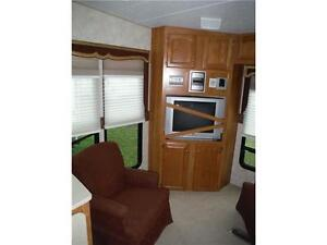 2007 Sabre 30RES Luxury 5th wheel trailer with power slideout Stratford Kitchener Area image 7