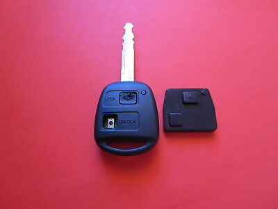 Silicone pad to suit 2 Buttoned Toyota Avensis remote key