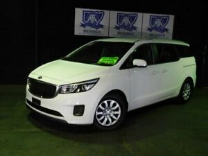 2018 Kia Carnival YP MY18 S White 6 Speed Sports Automatic Wagon Albion Park Rail Shellharbour Area Preview