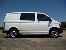 2013 Volkswagen Transporter T5 MY13 TDI400 White 7 Sports Automatic Dual Clutch Van Erina Gosford Area Preview