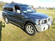 2006 Mitsubishi Pajero NP MY06 VR-X LWB (4x4) Grey 5 Speed Auto Sports Mode Wagon St James Victoria Park Area Preview