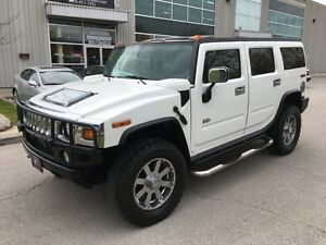 2004 HUMMER H2 NAVIGATION SUN ROOF NO ACCIDENTS LOADED ONTARIO S