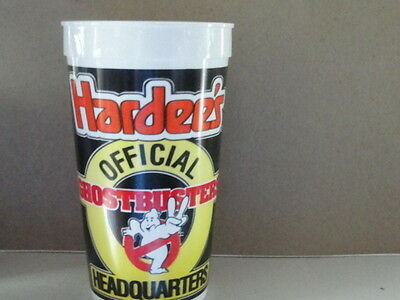 Hardees Official Ghostbusters Cup  80 S