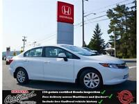2012 Honda Civic LX, USB, Bluetooth, 53$/wk