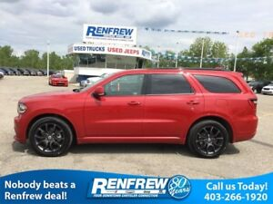 2017 Dodge Durango R/T Dual DVD, Trailer Tow, 2nd Row Captains,