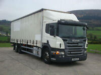 2009 Scania P270 6X2 Curtainsider,
