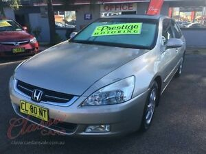 2005 Honda Accord 40 V6 Champagne 5 Speed Automatic Sedan Lansvale Liverpool Area Preview
