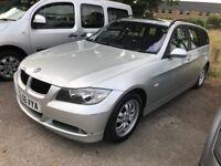 2006/06 BMW 320D SE Touring Estate 6 speed manual, Panoramic Sunroof,EW,AC,PAS,Alloys,Silver,