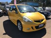 2007 Honda Jazz MY06 VTi-S Yellow 7 Speed CVT Auto Sequential Hatchback Margaret River Margaret River Area Preview