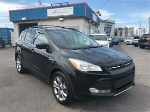 2014 Ford Escape SE AWD/ GPS/ CAMÉRA/ CUIR/ TOIT PANO/ FULL !