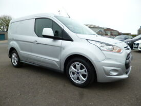 Ford Transit Connect 200 LIMITED P/V (silver) 2015-03-02