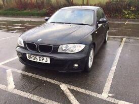 2005 BMW 1Series, 118d Sports Diesel,Full Service History,Long MOT July17,Bluetooth,Parking Sensors,